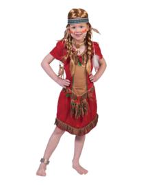 Red Hawk indiaans meisjes jurk