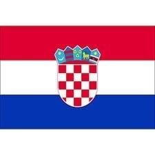 Vlag Kroatie 90x150