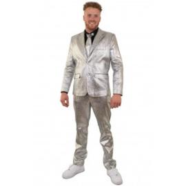 Zilver 3 delig pak metallic | bling bling