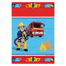 Brandweerman Sam uitdeel zakjes