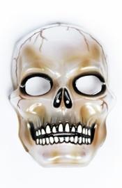 Masker transparant doodshoofd