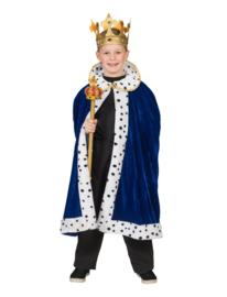 Koningsmantel blue kinderen