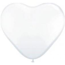 Transparante hartballonnen 5 stuks