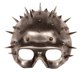 Oogmasker zilver pins