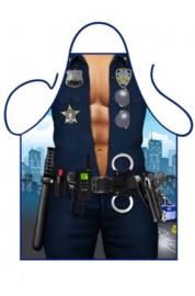 Schort police man