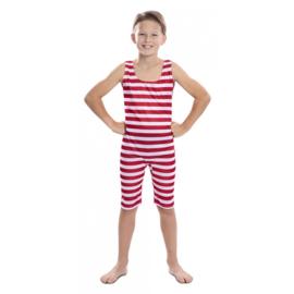 Ouderwets zwempak jongen
