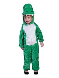 Krokodillen onesie outfit