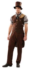 Steampunk mannen kostuum