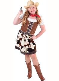 Cowgirl koeprint jurkje