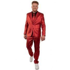 Rood 3 delig pak metallic | bling bling