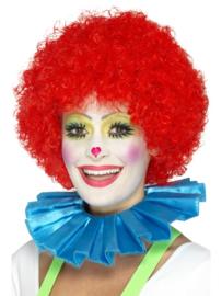 Clowns kraag blauw