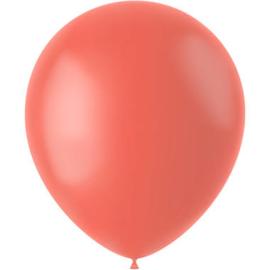 Ballonnen Fresh Cantaloupe Mat 33cm - 50 stuks