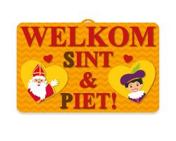 Deurbord Sinterklaas