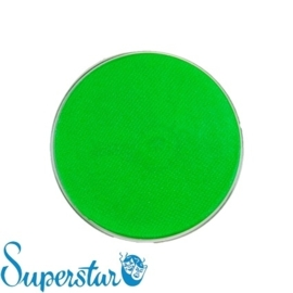 Superstar waterschmink fluor groen