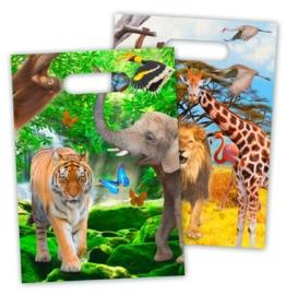 Uitdeelzakjes Safari
