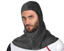 Middeleeuwse ridder kap
