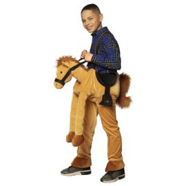 Gedragen paard kostuum | kinder paardenkostuum