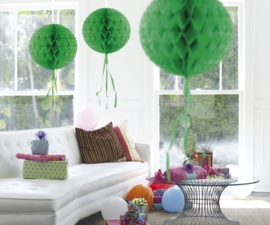 Honeycomb deco groen