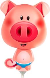 Folieballon mini shape varkentje