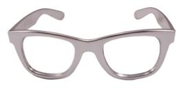 Moderne bril Zilver
