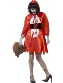 Zombie roodkapje jurkje