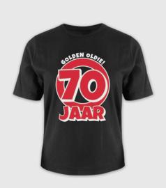 Leeftijd shirt - 70 jaar