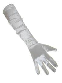 Handschoenen lang wit