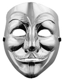 V for Vendetta zilver masker