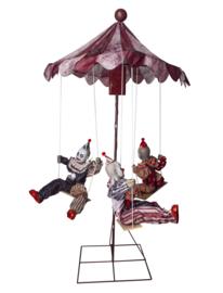 Draaimolen 3 clowns XL Deluxe