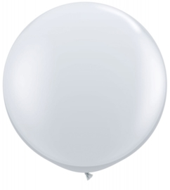 Ballon 90cm diamond clear qualatex