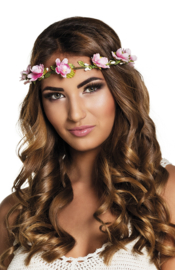Hoofdband Mallorca | bloemen haarband