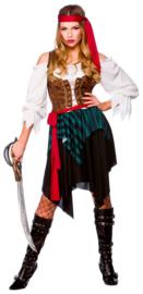Caribbean piraten kostuum vrouwen