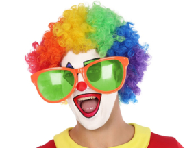 Clownsbril Jumbo oranje