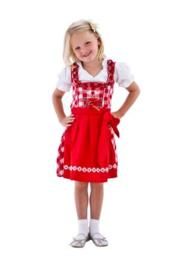 Tiroler dirndl kinder rood