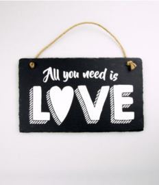 Leisteen - All you need is love!