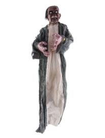 Hangdeco zombie met licht, geluid en beweging