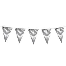 Vlaggenlijn zilver XL