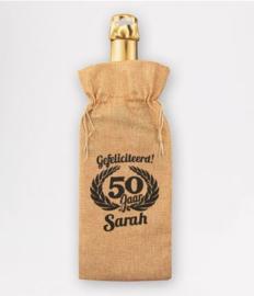 Bottle gift bag - Sarah