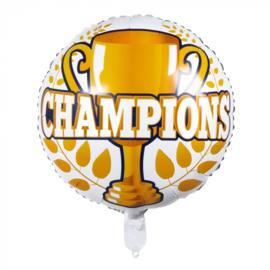 Folieballon 'Champions' | Kampioenen