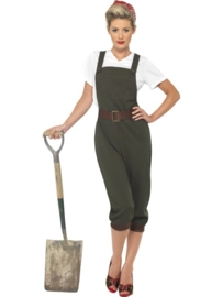 WW2 landgirl kostuum