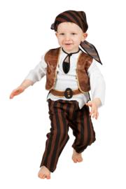 Baby piraten kostuum luxe