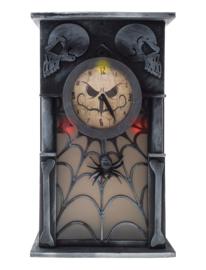 Spookachtige klok