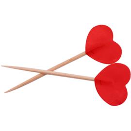 Prikkers rode hartjes