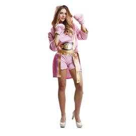 Boksers jumpsuit pink lady