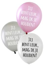 Ballonnen jij bent leuk