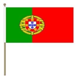 Zwaai vlaggetje Portugal