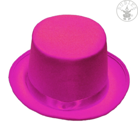 Hoge hoed vilt | Pink