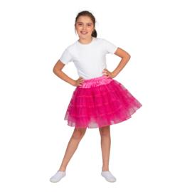 Petticoat meisje | glitter pink