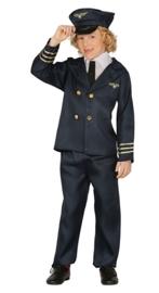 Piloten kostuum jongens
