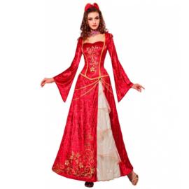 Renaissance prinses jurk lang
